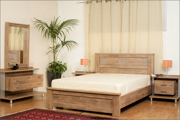 חדרי שינה מעוצבים מעץ מלא